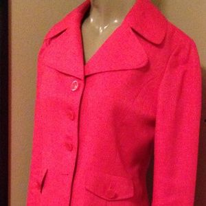 Women's Business Suit - Coral Pink